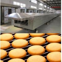 Buy cheap Gas tunnel oven 1000mm width Large Scale industrial baking equipment tunnel oven for cookie biscuit cake bread from wholesalers