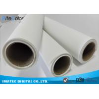 Buy cheap Waterproof 280gsm Matte Polyester Canvas Rolls Single Side For Giclee Inkjet Printing from wholesalers