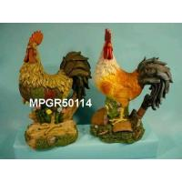 Buy cheap Polyresin Garden Roosters Statue from wholesalers