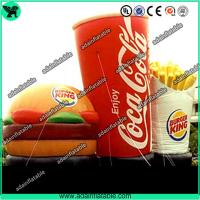 Buy cheap Advertising Inflatable Hamburger ,Inflatable Coca-cola Model,Inflatable French Chips from wholesalers