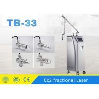 Buy cheap Fractional Co2 Laser Scar Removal Machine , Co2 Laser Fractional Skin Resurfacing Equipment from wholesalers