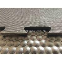 Buy cheap 8mm Square Hexagon Pattern Double Side Rubber Mats , Heavy Duty Stable Rubber Horse Stall Mat from wholesalers