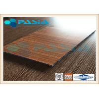 Buy cheap Train Partition Honeycomb Composite Panels HPL Attached 1220mm Width 2440mm Length from wholesalers