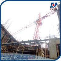 Buy cheap QTZ25(3508) Small Inner Climbing Tower Crane Building 80m in India from wholesalers