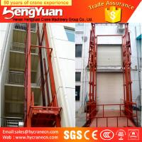 Buy cheap SJD model guide rail chain cargo lift from wholesalers