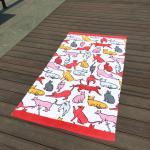 Buy cheap Giraffe Cat Cute Beach Towels from wholesalers