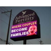 Buy cheap Digital Full Color Advertising Electronic Outdoor LED Road Sign from wholesalers