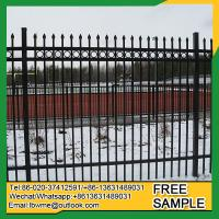 Buy cheap BattleCreek iron craft aluminum fence 6' tall by 8' wide china supplier from wholesalers