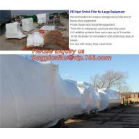 Buy cheap biodegradable shrink wrap 200 mic construction industrialJumbo construction industrial uv shrink wrap for yacht covering from wholesalers