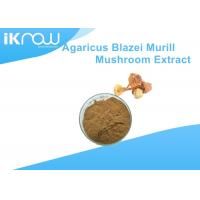 Buy cheap Yellow Polysaccharides Powdered Herbal Extracts Agaricus Blazei Murrill Extract from wholesalers