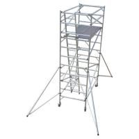 Buy cheap Construction Folding Aluminium Scaffold Tower Complied With EN 1004 Standards from wholesalers