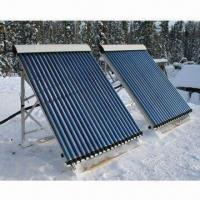 Buy cheap Heat-pipe Vacuum Tubes Split Solar Water Heater with Color Coated Steel Sheet from wholesalers