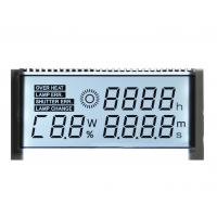 Buy cheap Custom Positive STN LCD Display Seven Segment For Car Dashboard 1 / 4 Duty Driving Method from wholesalers