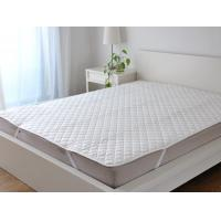 Buy cheap Fabric Quilting Mattress Cover Protectors With Four Corner Anchor Straps from wholesalers