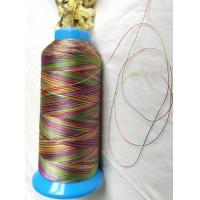 Buy cheap High strength quilting thread rainbow color polyester 150D/3(size 30) from wholesalers