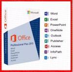 Buy cheap Office 2013 Professional Key Card 32 Bit / 64 Bit DVD retailbox office 2013 pro plus key from wholesalers