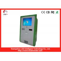 Buy cheap 15 Inch Wall-mounted Payment Kiosk With Cash Recycler And Coin Recycler, Receipt Printer from wholesalers