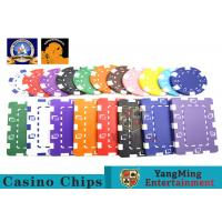Wholesale Oversized Rectangular Printable Plastic Ept Poker Chips 11.5g - 32g 3.3mm Thickness from china suppliers