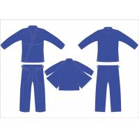 Buy cheap Heavy Royal Blue Hemp Bjj Gi Youth Jiu Jitsu Gi Pant Twill Tape With 4Row Threads from wholesalers