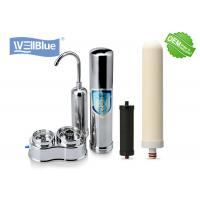 Buy cheap Household Ceramic Countertop Water Filter with 304 Stainless Steel Housing product