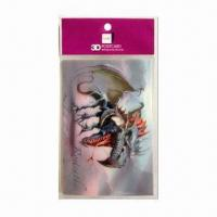 Wholesale 3D Lenticular Post Card, Wonderful 3D Depth Designs, Color More Fresh and Clear from china suppliers