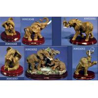 Buy cheap Polyresin Elephant, Pig, Sheep, Fish figurine from wholesalers