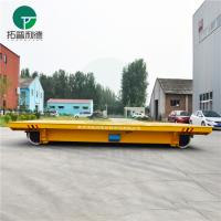 Buy cheap 50t Battery Industrial Railroad Transfer Trolley For Warehouse Interbay Cargo Handling from wholesalers