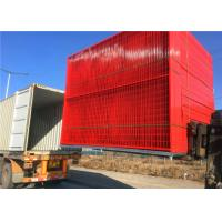 Buy cheap Longlife Temporary Welded Mesh Fence Colourful Powder Coated Canada Standard from wholesalers