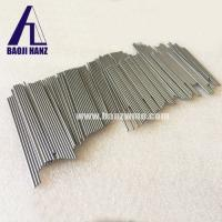 Buy cheap China hot new sale tungsten rod bar polished surface high temperature resistant from wholesalers