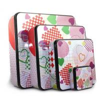 Buy cheap wholesale square holiday tins company from wholesalers