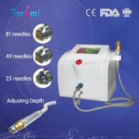 Buy cheap microneedle RF machine improve saggy skin, wrinkles, acne scars, large pores from wholesalers