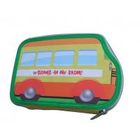 Buy cheap Pencil Case with Stationery Filling-2 Zippers from wholesalers
