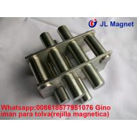 Buy cheap magnetic grill,ndfeb magnet,food process magnet,tramp magneticas iman de tolva 11000gs from wholesalers