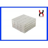 Buy cheap Permanent Rare Earth NdFeB Magnet / Rectangle Extra Strong Magnets Zinc Coating from wholesalers