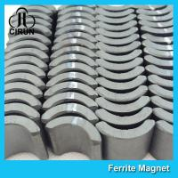 Buy cheap U Shaped Ceramic Ferrite Magnets Permanent Motor Magnet Customized Size from wholesalers