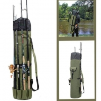 Buy cheap Outdoor Sports Portable Folding 600D Oxford Fishing Rod Case Bag from wholesalers