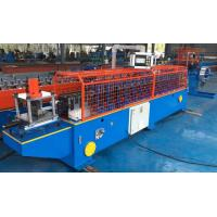 Buy cheap Metal Frame Stamping Rolling Shutter Door / Shutter Slat Roll Forming Machine from wholesalers