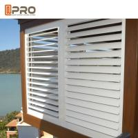 Buy cheap Sun Adjustable Aluminium Louver Window For House Projects Customized Size from wholesalers