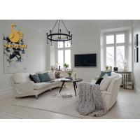 Buy cheap Modern Carpet Underlay Felt Chair Mat Black / White Area Rugs Nonwoven Dry Quickly from wholesalers