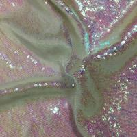 Buy cheap Comfortable Glitter Sequin Fabric Textured Upholstery PVC Vegan Thin Quilted from wholesalers