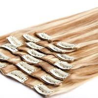 Buy cheap Clip in Hair Extensions Clip Hair Human Hair Extensions from wholesalers