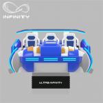 Buy cheap Multi - Player 9D Virtual Reality Cinema Motion Simulator Logo Customization from wholesalers