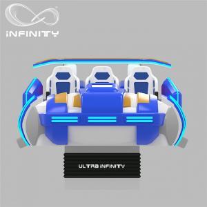 Wholesale Multi - Player 9D Virtual Reality Cinema Motion Simulator Logo Customization from china suppliers