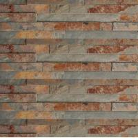 Buy cheap natural slate stone wall cladding for bathroom decoration from wholesalers