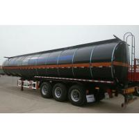 Buy cheap Heating Asphalt Tank Semi Trailer 35 - 60cbm 3 Axle Insulated Tanker Trailers from wholesalers