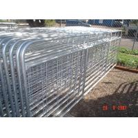 Buy cheap Horse Corral Panels Powder Coated 6 Bars Cattle for Famr and Yard from wholesalers