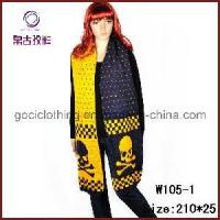 Buy cheap Skull Head Jacquard Knitting Scarf (W105-1) from wholesalers