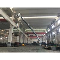 Buy cheap Marine crane vessel telescopic hydraulic crane with international brand components from wholesalers