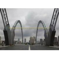 Buy cheap Heavy Duty Bailey Structural Steel Bridge Strong Quakeproof Steel Arch Bridge product