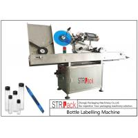 Buy cheap Adhesive StickersHorizontal Labeling Machine , Vial Ampoule Syringe Labeling Machine from wholesalers